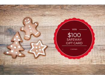 Enter to Win $100 Safeway Gift Card on December 1st