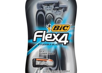 NEW BIC Flex 4 Coupon, Pay $4.29 for Disposable Razors