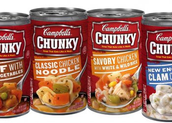 Campbell's Chunky Soup Coupon, Pay $0.74