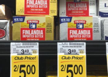 Finlandia Coupon, Pay $1.50 for Imported Butter