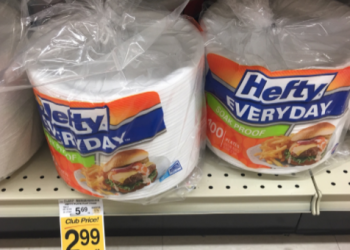100 Hefty Plates for $2.49 – Perfect for the Holiday Season