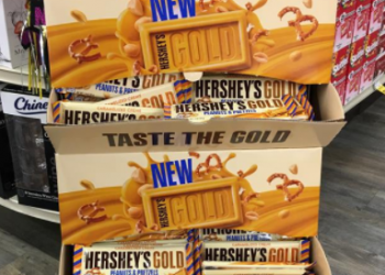 HOT Hershey's Coupon – $1.29 TOTAL for FOUR (4) Candy Bars, $0.32 Each