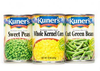 Kuner's Veggies for as Low as $0.25
