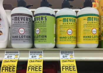 Mrs. Meyer's Clean Day Hand Lotion – BOGO (Pay $3.00 Per Bottle)