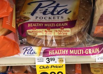 Oroweat Pita Pockets for $1.99