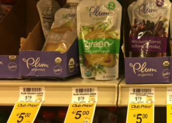 Plum Organics Coupon – Baby Food for as Low as $0.63