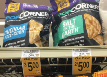 PopCorners Coupon, Pay $1.25