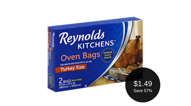 Reynolds Oven Bags Coupon - Only $1.49 at Safeway - Super ...