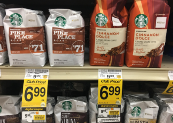 Starbucks Coupon, Pay $4.99 for Coffee & Latte Bags or K-Cups