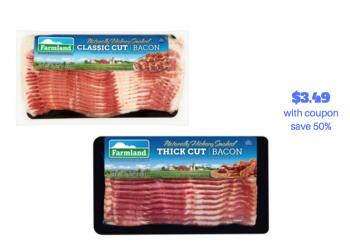 New Farmland Bacon Coupon, Pay just $3.49 at Safeway