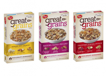 Post Great Grains Cereals Just $1.99 With Coupon (Reg. $4.49, save 56%)