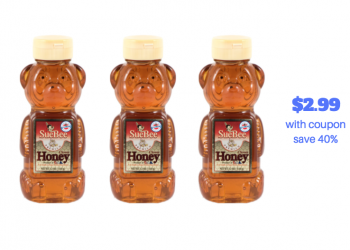 Sue Bee Honey Coupon and Sale – Pay Just $2.99, Save 40%