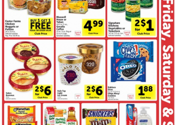 Three Day Sale at Safeway: January 19th – 21st