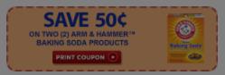 Arm & Hammer Baking Soda for $0.29