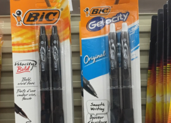 BIC Coupon – Pay $0.89 for Wite-Out or $0.99 for Velocity Pens
