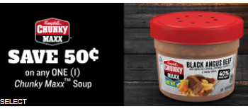 Chunky Maxx Soup Coupon, Pay $2.00