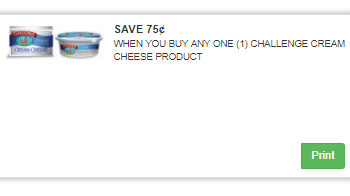 Challenge Cream Cheese Coupon, Only $0.99