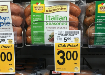 Foster Farms Chicken Sausage on Sale for $3.00 (Save 50%)