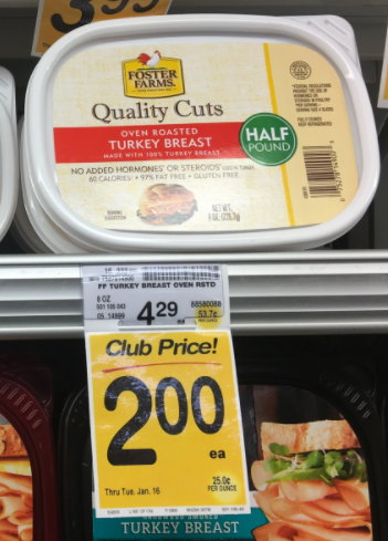 Foster Farms Lunchmeat