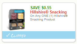 Hillshire Snacking Coupon, Pay $1.50 for Plates