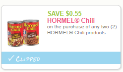 Hormel Chili Coupons – Pay as Low as $0.38 at Safeway