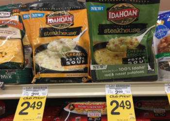 Idahoan Steakhouse Soup Coupon, Pay $1.49