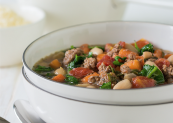 30 Minute Italian Beef Soup