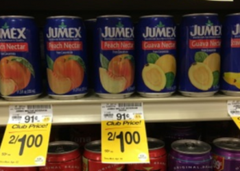 Jumex Nectar for $0.50