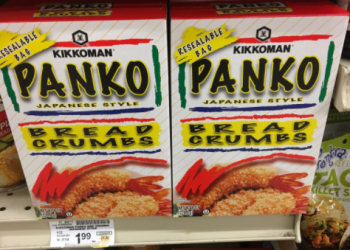 Kikkoman Panko Coupon, Only $0.99