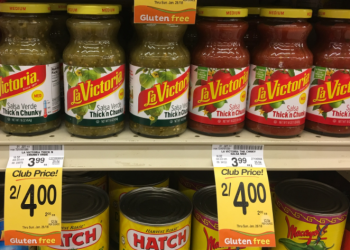 La Victoria Salsa for $2.00 (Save 50% Per Bottle)