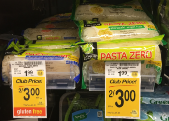 Nasoya Pasta Zero on Sale – Pay as Low as $1.00