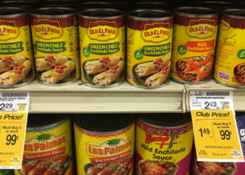 Old El Paso Beans & Enchilada Sauce For as Low as $0.49