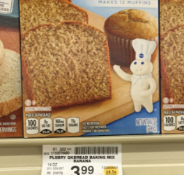 50% Off Pillsbury Quick Bread – Pay $1.99