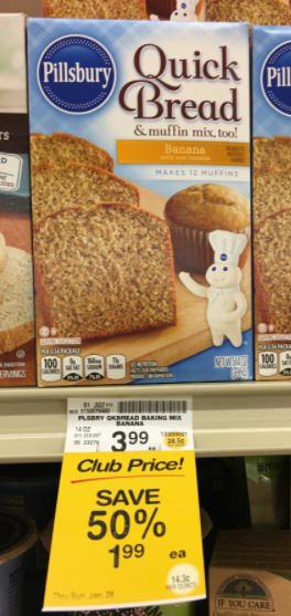 Pillsbury Quick Bread