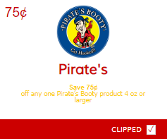 Pirate's Booty coupons