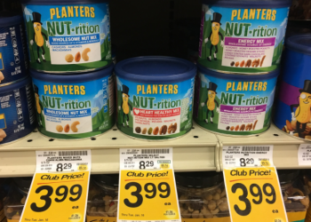 Planters Nut-rition for $3.99 (Save $4.30)