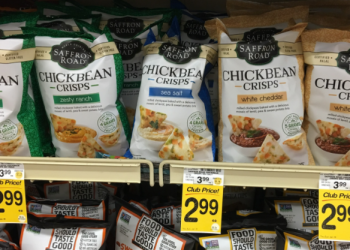 Saffron Road Chickbean Crisps for $1.99 (Save 50%)