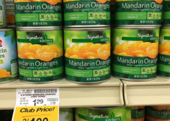 Signature Kitchens Mandarin Oranges for $0.50
