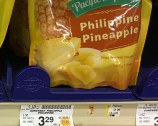 Sunsweet Coupon, Pay $1.49 for Philippine Pineapple