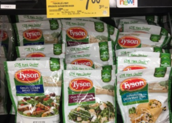 Tyson Coupon, Only $2.25 for Refrigerated Chicken Products