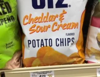 Utz Potato Chips for $1.99