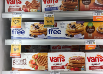 Van's Coupon – Pay as Low as $1.75 for Organic or Gluten Free Waffles