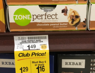 ZonePerfect Bar For as Low as $0.66