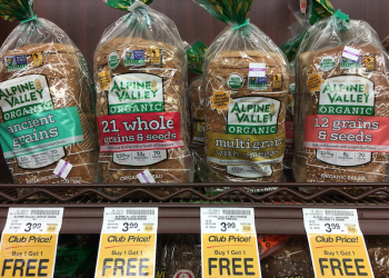 Save 68% on Alpine Valley Organic Bread With BOGO Free Sale and Coupon