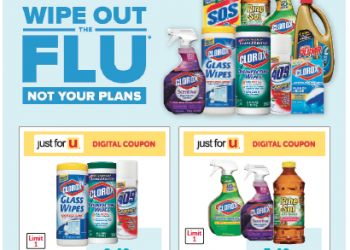 HOT Clorox Buy 4, Save $2 Promotion – Save 61% on Wipes and Cleaners