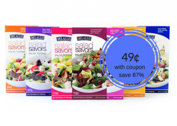Delallo Salad Savors Just $.49 With Sale and Coupon