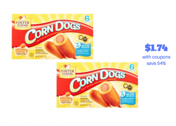 Foster Farms Corn Dogs Just $1.74 a Box With Sale and Coupon