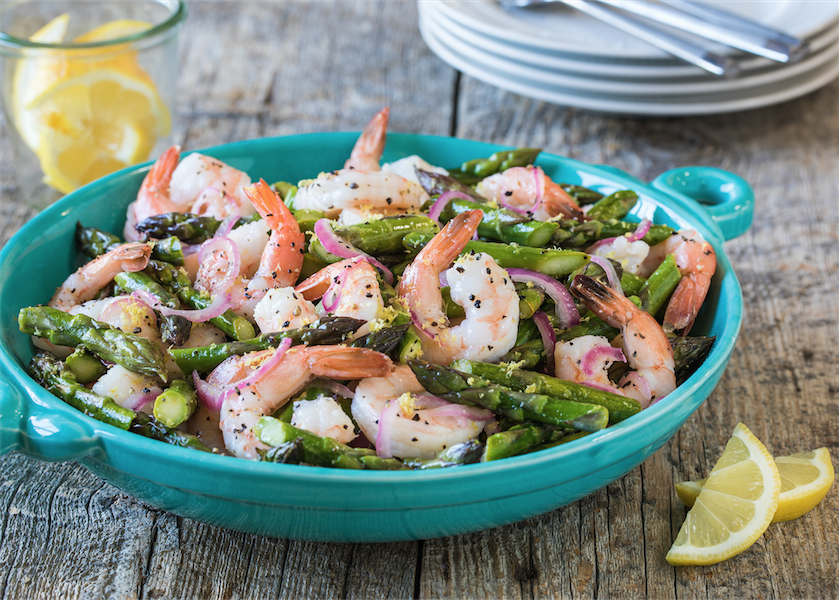 Roasted Shrimp & Asparagus Salad - Super Safeway