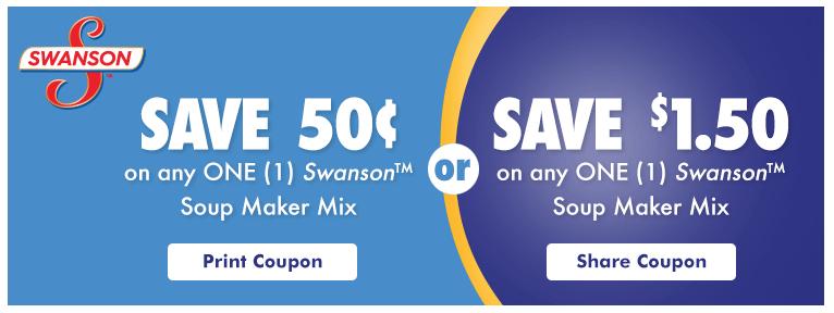 swanson soup maker coupon