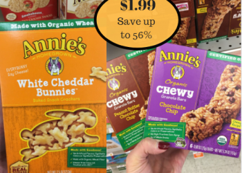 Annie's Organic Snacks – Only $1.99 After Sale & Coupon
